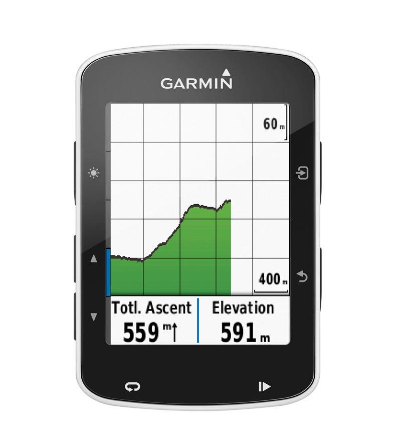 010-01369-00   Garmin Edge 520 GPS Bundle WW Med Belte